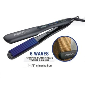 "DA AVANTI ULTRA 1 1/2"" CRIMPING IRON //MJ'19"