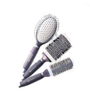 DA BBP CASSIS 9PC BRUSHES WITH GEL HANDLE (LE) - PURPLE