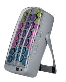 DA BAB CERAMIC & IONIC ROLLERS (30 PC + BUTTERFLY CLIPS)