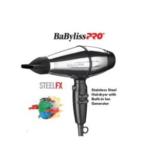DA BP STEELFX STAINLESS STEEL HAIRDRYER - BARBEROLOGY