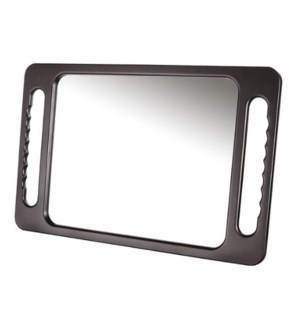 DA BP EXTRA LARGE RECTANGULAR MIRROR - BLACK