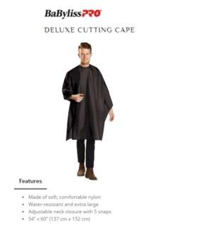 DA BP DELUXE CUTTING CAPE BLACK
