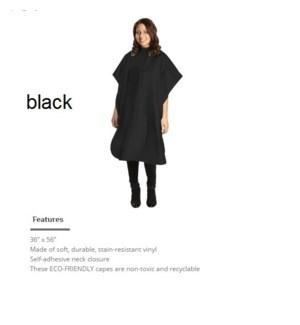 DA ALL-PURPOSE WATERPROOF CAPE-BLACK