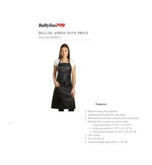DISC// DA BP DELUXE APRON WITH PRINT