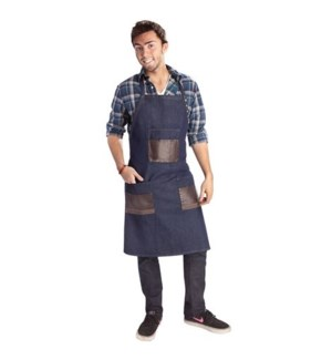 DA BP DENIM APRON (OFF. BARBER TOOLS)