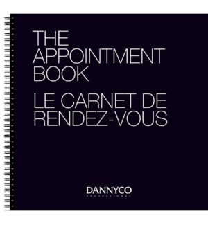 DA BP APPOINTMENT BOOK - 6 COLUMNS/100 PAGES