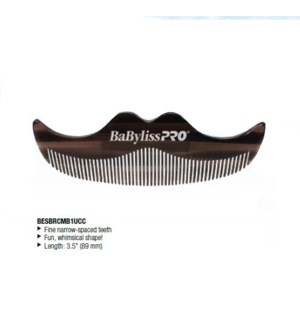 DA BP MOUSTACHE COMB