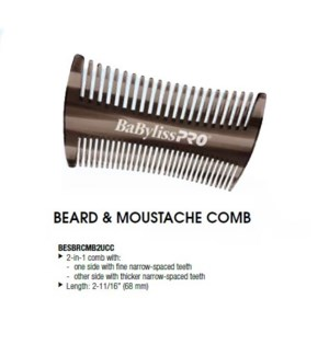 DA BP BEARD & MOUSTACHE COMB