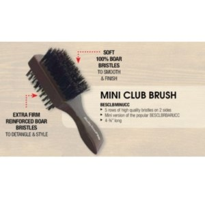DA MINI TWO-SIDED CLUB BRUSH