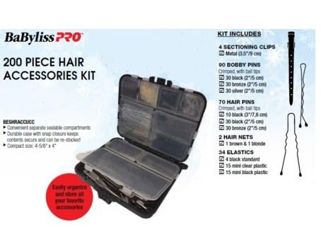 DA BP 200 PIECE HAIR ACCESSORIES KIT