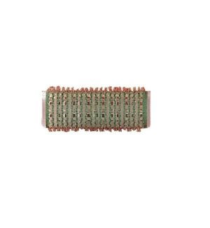 DA BP SELF GRIPPING VELCRO ROLLERS GREEN/20MM BAG OF 12