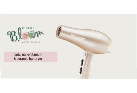 DA BP IONIC, NANO-TITANIUM & CERAMIC HAIRDRYER DESERT BLOOM