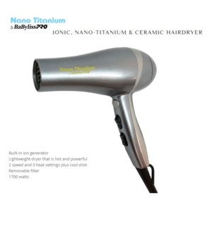 DA BP LIGHTWEIGHT DRYER (METALLIC FINISH) (LE) HD'19