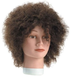 FRIZZY HAIR MANNEQUIN