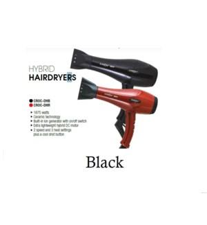 DA CROC HYBRID HAIRDRYER (BLACK)  JA21