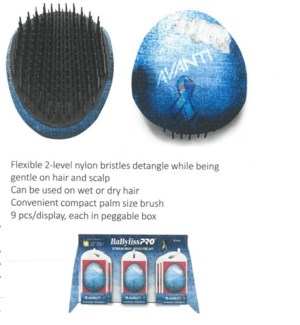 DA AV NO DISTRESS DETANGLING BRUSH 9PC DISPLAY (LE) JA'19