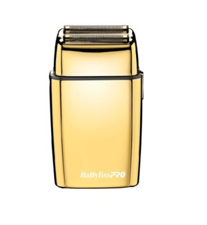 DA BP METAL DOUBLE FOIL SHAVER GOLD