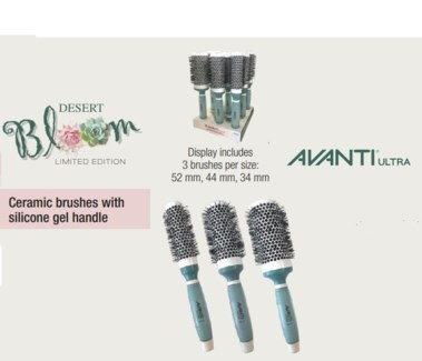 DA CERAMIC 9PC BRUSHES WITH GEL HANDLE (LE) - DESERT BLOOM