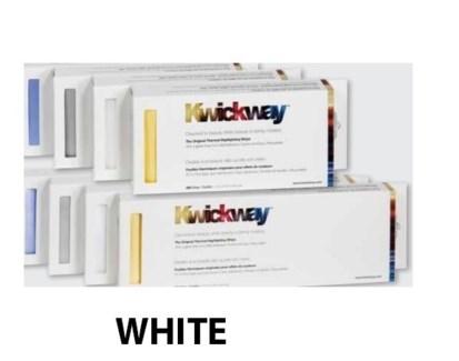 "DA KWICKWAY PRE-CUT STRIPS 8 x 3 3/4"" (200 STRIPS) WHITE"