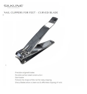 DA SILKLINE NAIL CLIPPER-CURVED FEET EACH