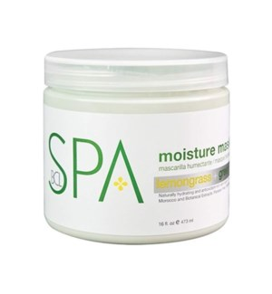 DA LEMONGRASS & GREEN TEA, MOISTURE MASK, 16 OZ.