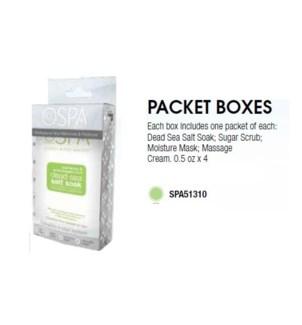DA LEMONGRASS & GREEN TEA PACKET BOX