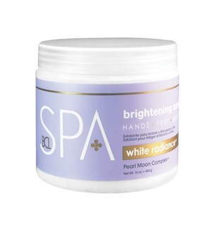 DA WHITE RADIANCE BRIGHTENING SCRUB, 16 OZ.