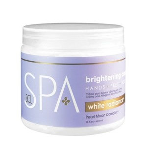 DA WHITE RADIANCE BRIGHTENING CREAM, 16 OZ.