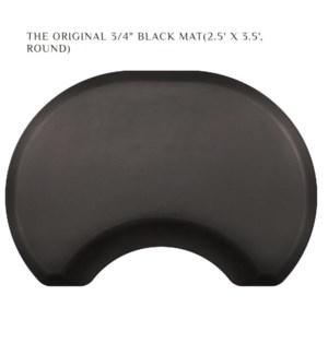 DA THE ORIGINAL ELITE BLACK MAT 2.5' X 3.5' ROUND