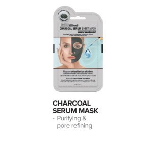 DA SS PREMIUM SERUM SHEET MASK - DETOX CHARCOAL - EACH