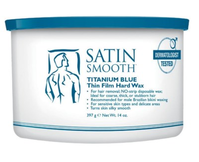 DA SS TITANIUM THIN FILM HARD WAX 14OZ (BLUE)