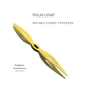 DA SILKLINE DOUBLE ENDED TWEEZERS 18PC DISPLAY (LE) HD'19
