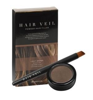 FHI HAIR VEIL LGT BROWN POWDER HAIR FILLER
