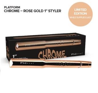 "FHI PLATFORM CHROME ROSE GOLD 1"" IRON (LE)//JF'19"