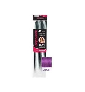 "HAIR AFFAIR LOOP&LOCK 18"" 10PC VIOLET"