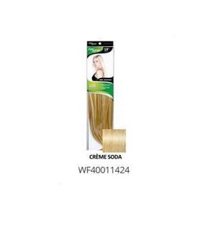 "FIRST LADY HAIR AFFAIR 18"" 8PC CLIP-IN 14/24 CR�ME SODA"