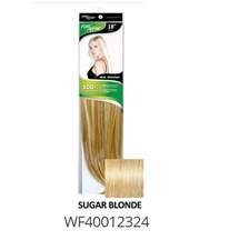 "FIRST LADY HAIR AFFAIR 18"" 8PC CLIP-IN  SUGAR BLONDE"