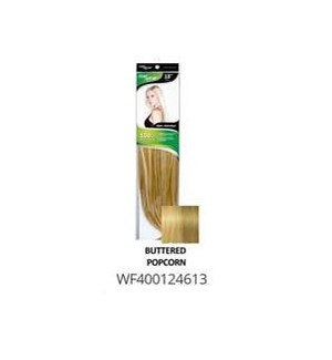 """FIRST LADY HAIR AFFAIR 18"""" 8PC CLIP-IN  BUTTERED POPCORN"""