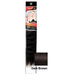 "FIRST LADY HH #2 DARK BROWN 18"" DUAL TAPE EXTENSION"