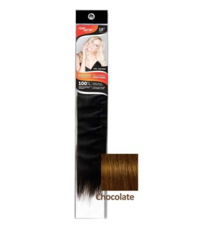 "FIRST LADY HH #2C CHOCOLATE 18"" DUAL TAPE EXTENSION"