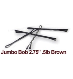 JUMBO BOB 2.75 1/2 POUND - BROWN