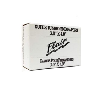FLAIR END PAPERS (3 X 4) JUMBO