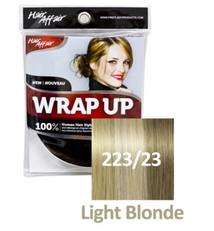 FIRST LADY HAIR AFFAIR WRAP UP #223/23 LIGHT BLONDE