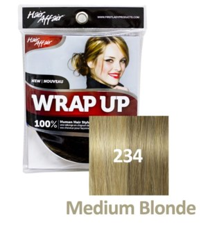 FIRST LADY HAIR AFFAIR WRAP UP #234 MEDIUM BLONDE