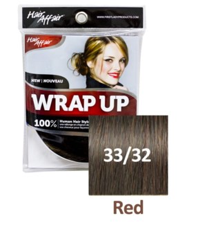 FIRST LADY HAIR AFFAIR WRAP UP #33/32 RED