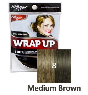 FIRST LADY HAIR AFFAIR WRAP UP #8 MEDIUM BROWN