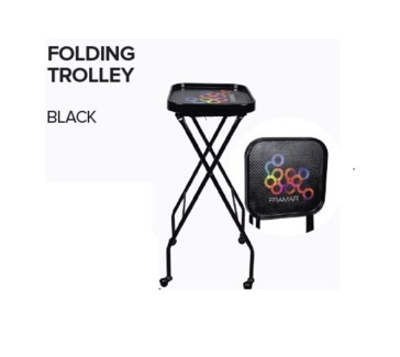 FRAMAR FOLDING TROLLEY - BLACK (EQP-FT)