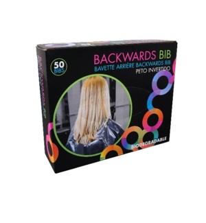 FRAMAR BACKWARDS BIB (PROTECTS CHAIR & CAPE)