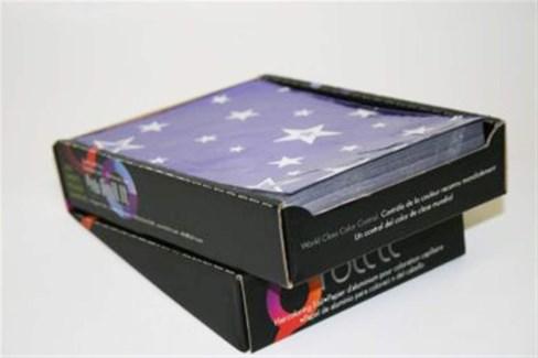 FO PAPARAZZI PURPLE STARS 5X7 SMOOTH SHEETS (500)