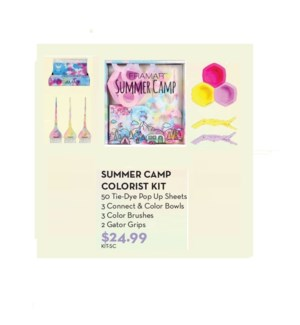 FRAMAR FOIL IT SUMMER CAMP COLORIST KIT MJ2021